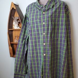 Izod Long Sleeve Button Down